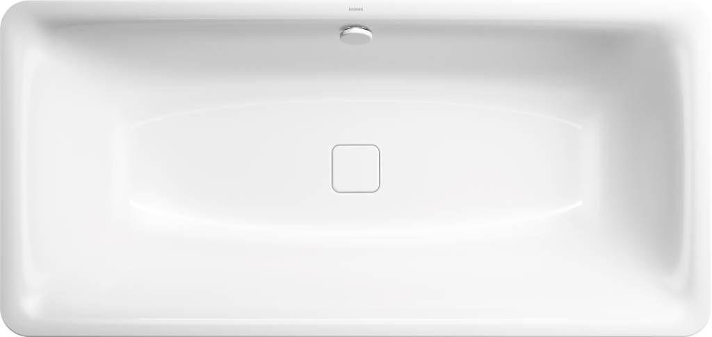 Kaldewei Avantgarde Incava 174 Rechteck-Badewanne L:180xB:80xT:43,5cm weiß Vollantislip 217434010001