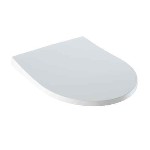 Geberit Keramag iCon Slim WC-Sitz mit Absenkautomatik mit Deckel Wrap over weiß 574950000