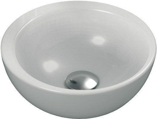 Ideal Standard Strada Schalenwaschtisch rund DM:34xH: 15,5cm ohne Hahnloch ohne Überlauf weiß mit Ideal Plus K0793MA