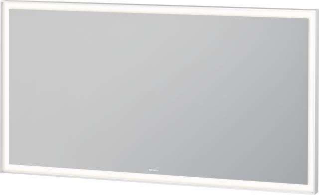 Duravit L-Cube Spiegel mit Beleuchtung B:130xH:70xT:6,7 cm LED Modul 60 W LC738800000