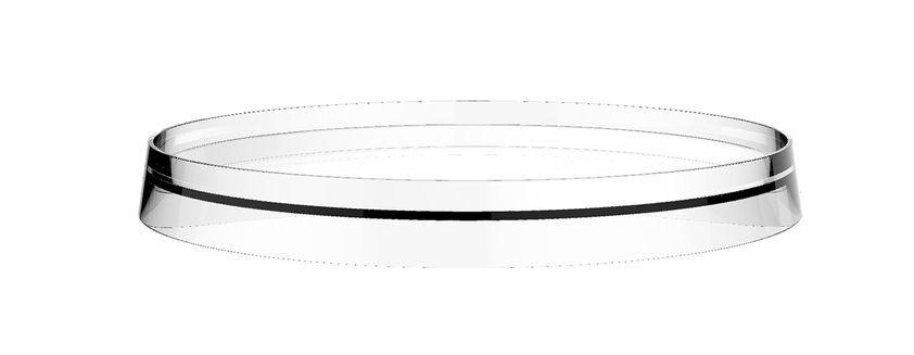 Laufen Disc Kartell by Laufen zu Waschtisch- und Bidetmischer Wandablage und Rollenhalter Durchmesser: 183 mm schwarz H3983350910011