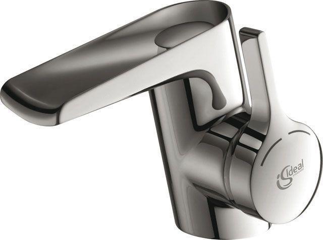 Ideal Standard Melange Einhebel-Wasserfall-Waschtischarmatur mit Ablaufgarnitur chrom B8630AA