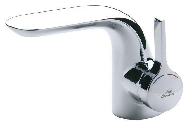 Ideal Standard Melange Einhebel-Waschtischarmatur mit Ablaufgarnitur chrom A4258AA