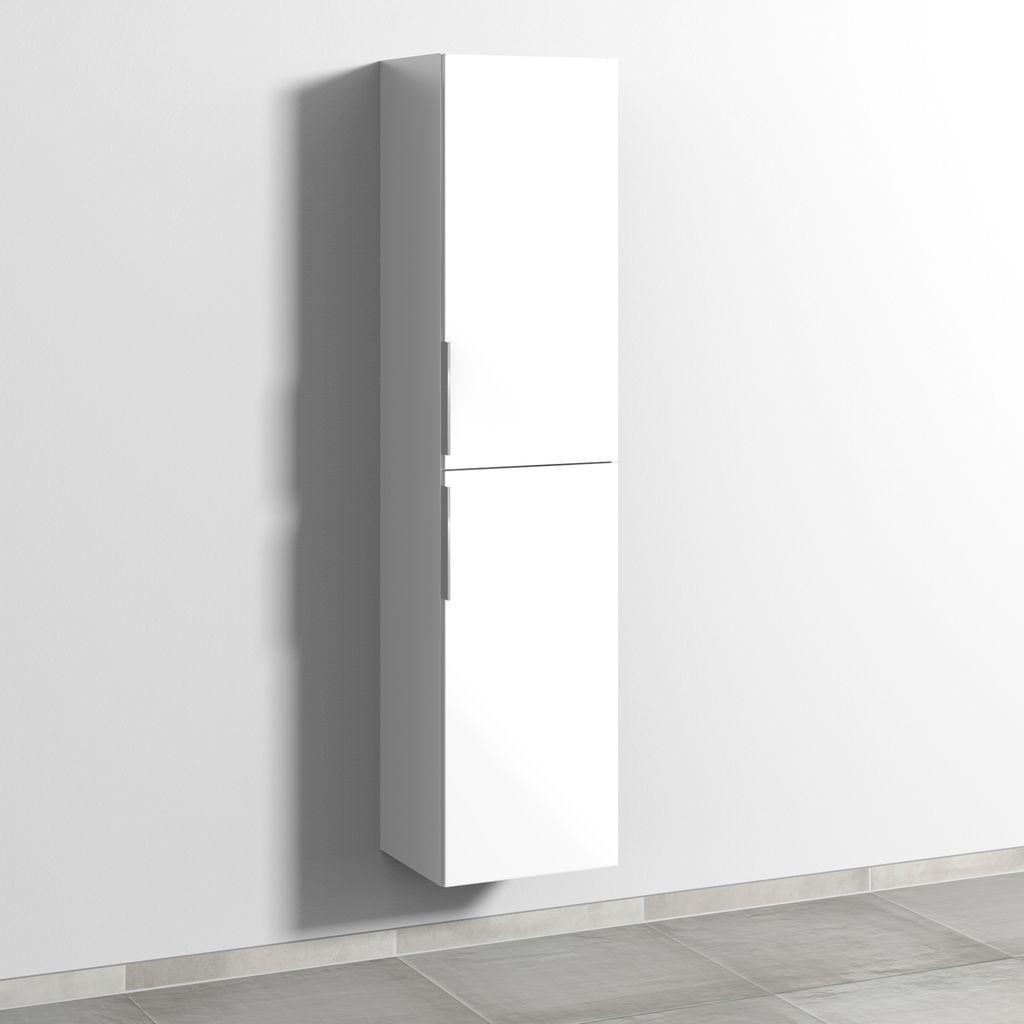 Sanipa 3way Hochschrank rechts (UM095) H:170xB:40xT:34,7cm Weiß-Soft UM09543