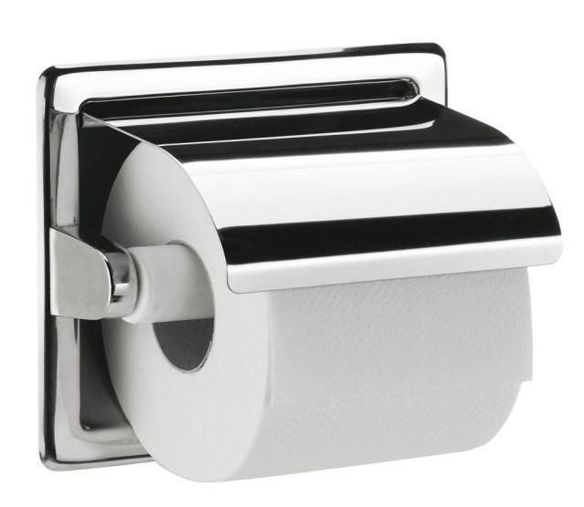 Emco System 2 Einbau-Papierhalter 350000001, 1fach, mit Deckel