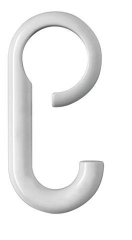 HEWI Haken Serie 477 verschiebbar auf Stange d:28mm Tiefschwarz 477.30.010 90