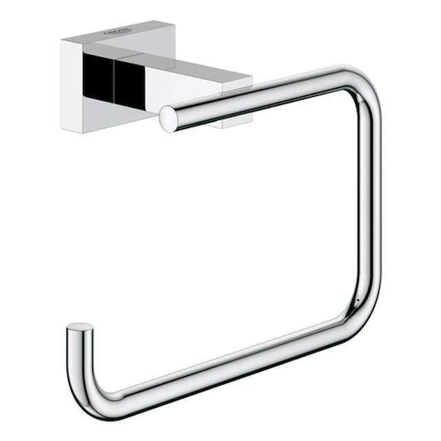 Grohe Essentials Cube WC-Papierhalter ohne Deckel chrom 40507001