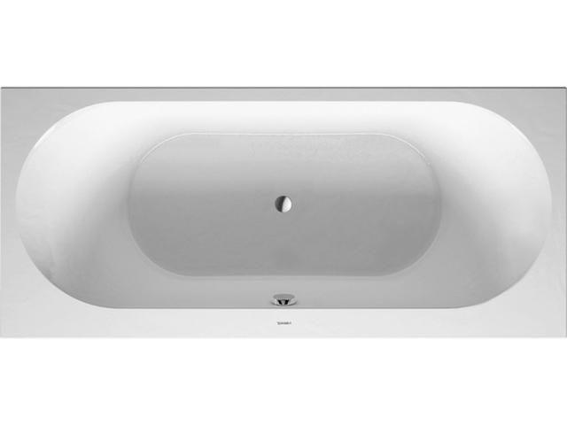 Duravit Darling New Rechteck-Badewanne B:80xL:180cm Einbauversion Rückenschräge links weiß 700244000000000