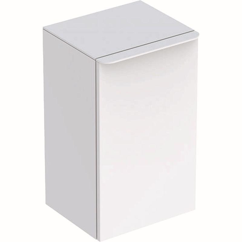 Geberit Smyle Square Seitenschrank mit einer Tür links 36x60x326cm weiß 500360001