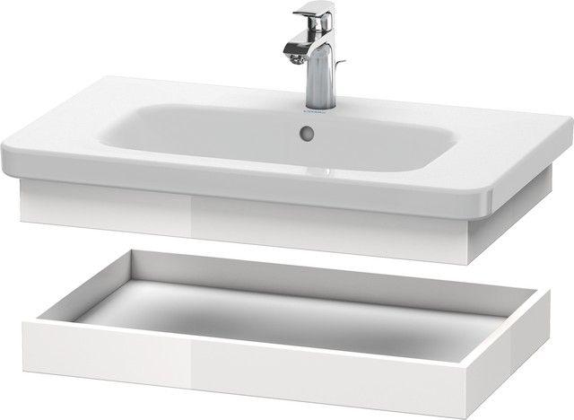 Duravit DuraStyle Ablageboard B:73xH:8,4xT:44,8cm europäische eiche, weiß matt DS618105218
