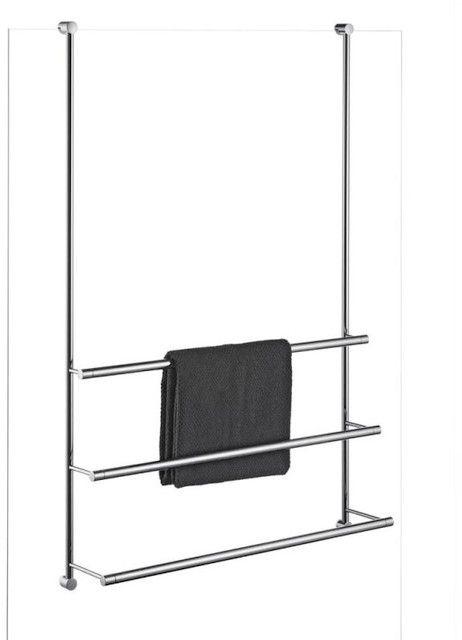 Giese Server Handtuchhalter Duschwandmodell B:500xH:1000mm verchromt 30856-02