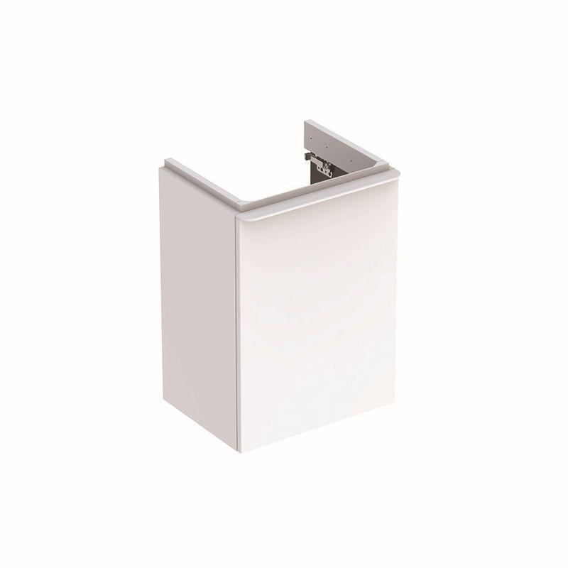 Geberit Smyle Square Unterschrank für Handwaschbecken mit 1 Tür rechts 442x617x356cm weiß 500350001
