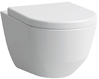 Laufen PRO Wand-Flachspül-WC B:36xL:53cm weiß mit CleanCoat LCC H8209594000001