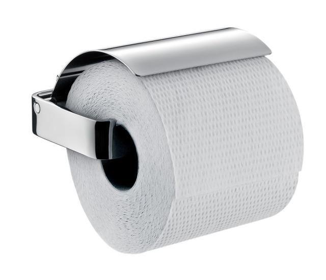 Emco Loft Papierhalter 050000100, chrom, mit Deckel