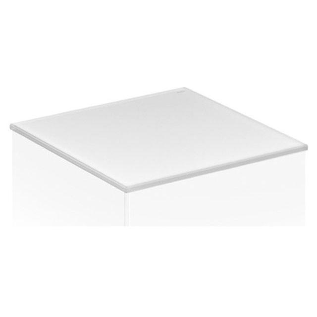 Keuco Royal Reflex Abdeckplatte passend zu Mittelschrank 34020 Cristallin-Glas weiß 34020519000