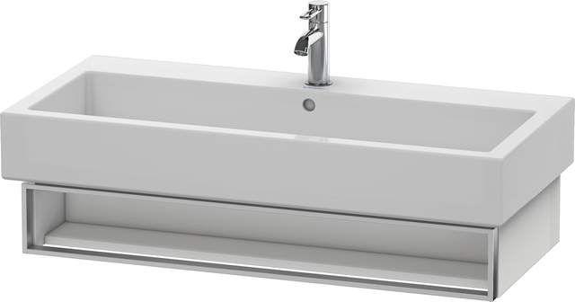 Duravit Vero Waschtischunterschrank wandhängend für 045410 B:95xH:15,5xT:43,1cm 1 Fach weiß hochglanz lack VE600708585