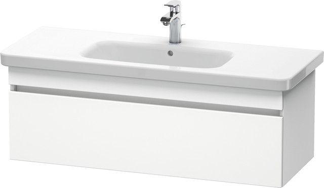 Duravit DuraStyle Waschtischunterschrank wandhängend B:113xH:39,8xT:44,8cm 1 Auszug weiß matt DS639501818