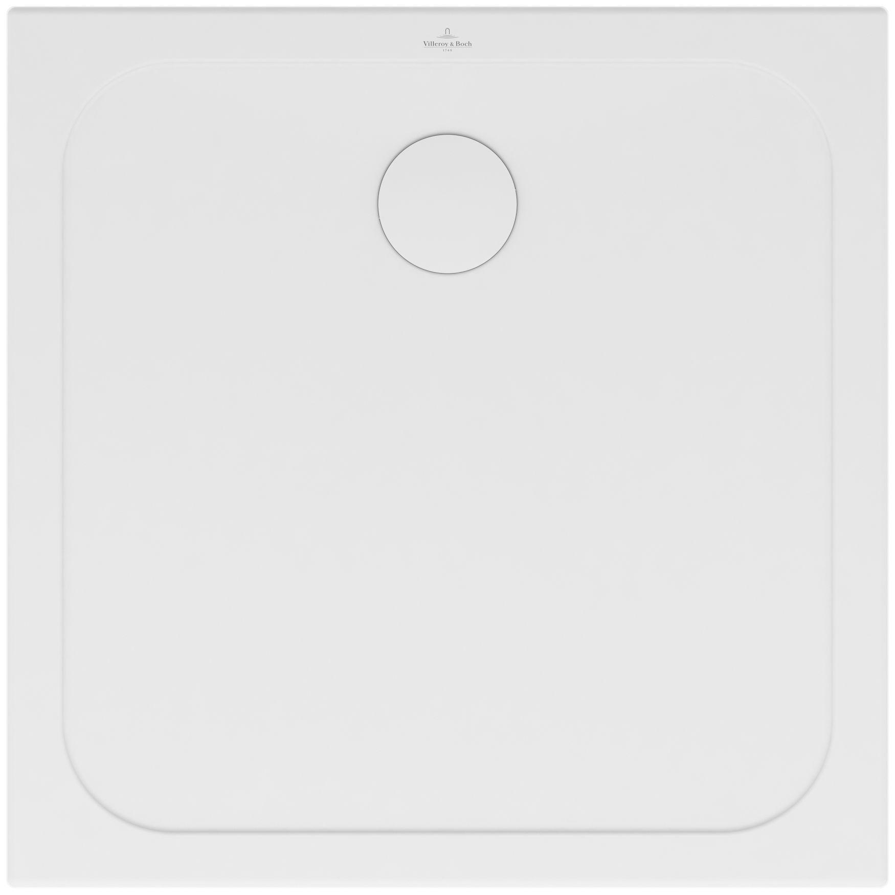 Villeroy & Boch Lifetime Plus Duschwanne Quadrat L:100xB:100xH:3,5xcm weiß 6223J501