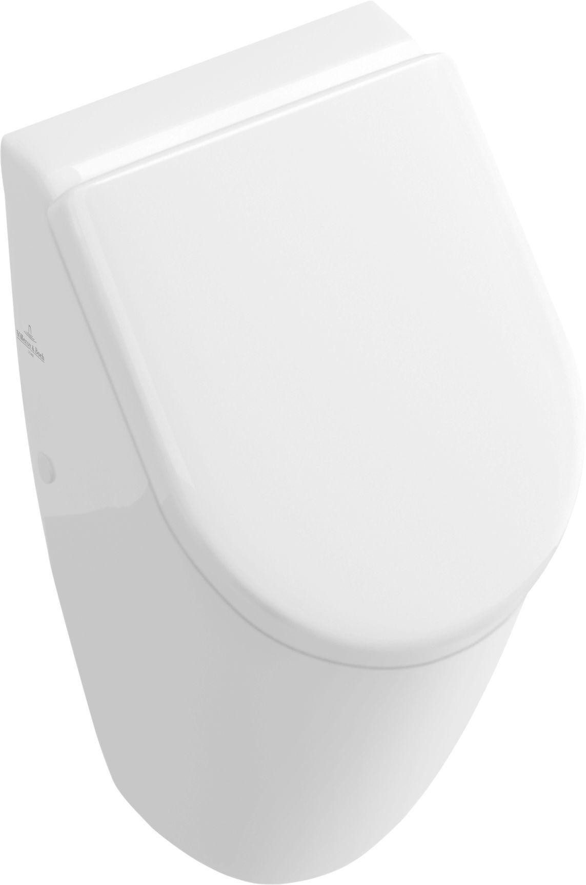 Villeroy & Boch Subway Urinal für Deckel Zulauf verdeckt weiß mit ceramicplus 751301R1