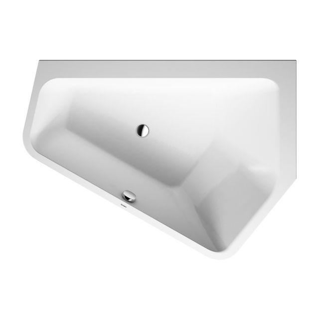 Duravit Paiova 5 Badewanne L:177xB:130 cm Ecke rechts Einbauversion weiß 700391000000000