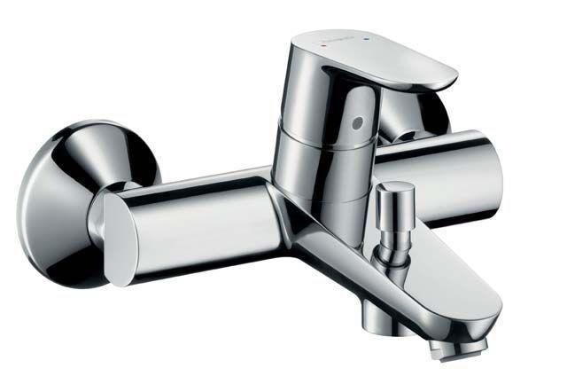 Hansgrohe Focus E² 31940000 Wannenmischer Aufputz chrom