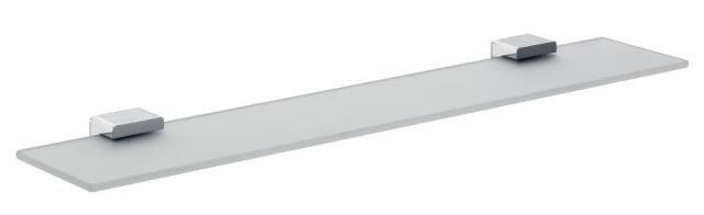 Emco Loft Glasablage 051000160, chrom, 600mm