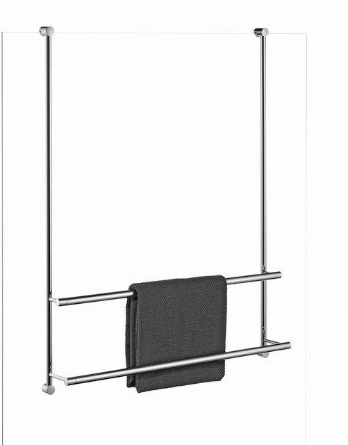 Giese Server Badetuchhalter für Glasduschen B:650xH:830mm verchromt 30858-02