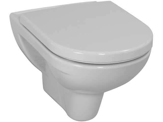 Laufen Pro Tiefspül-Wand-WC L:56xB:36cm weiß mit CleanCoat LCC H8209504000001