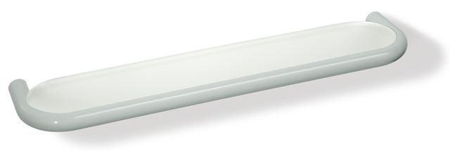 HEWI Ablage Serie 477 Glas matt weiß Tiefschwarz 477.03.10005 90