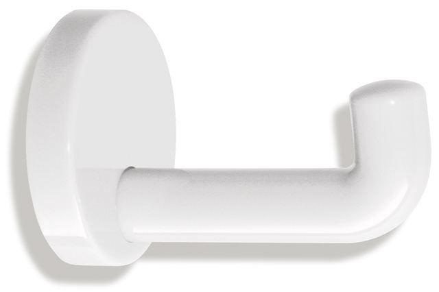 HEWI Einzelhaken Serie 477 d:70mm Reinweiß 477.90.030 99