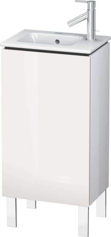 Duravit L-Cube Waschtischunterschrank stehend B:42xH:70,4xT:29,4 cm mit 1 Tür Anschlag rechtsflannel grey seidenmatt LC6273R9090