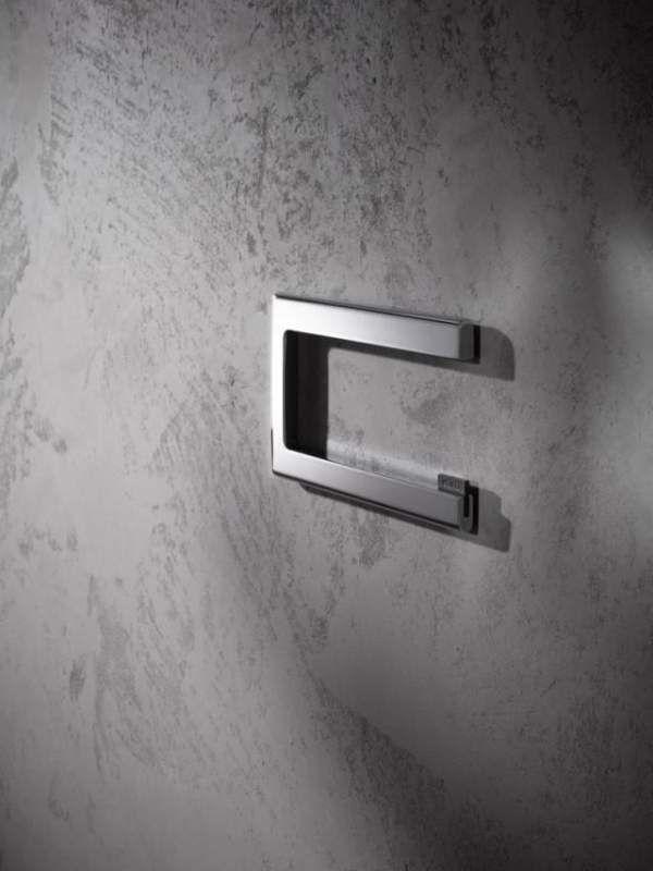 Keuco Edition 400 Toilettenpapierhalter offene Form verchromt 11562010000
