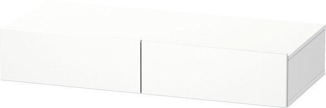 Duravit DuraStyle Schubkastenablage 440x1000x150 2 Schubkästen weiß matt/ weiß matt DS827001818