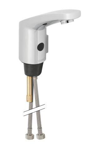 Geberit elektronische Waschtischarmatur Typ 185 Batteriebetrieb mit Mischer und Griff 116255211