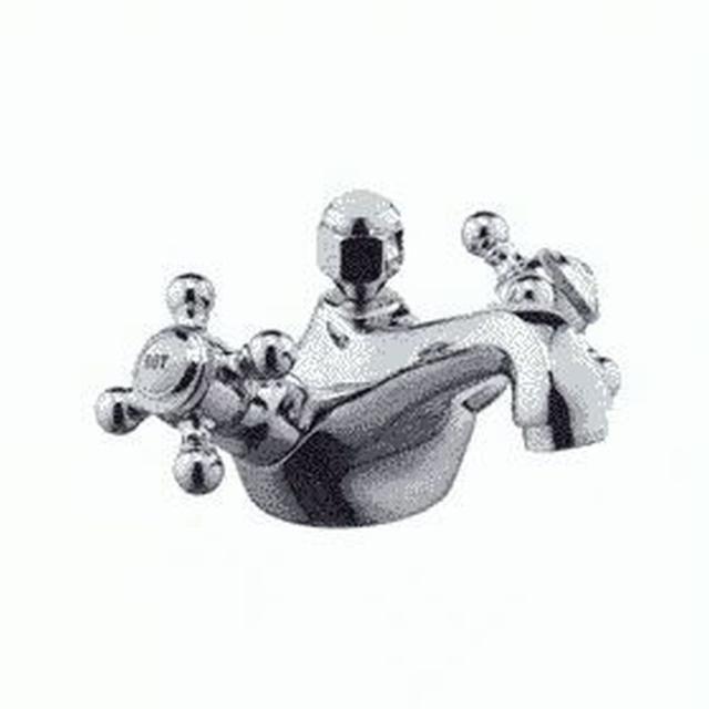 KLUDI ADLON Waschtischarmatur Ablaufgarnitur Ausladung 125mm messing 510124520