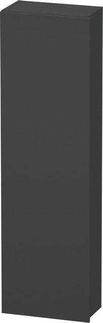 Duravit DuraStyle Hochschrank B:40xH:140xT:24 cm mit 1 Tür Türanschlag links graphit matt DS1218L4949