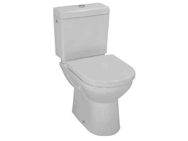 Laufen Pro Tiefspül-Stand-WC für Kombination L:67xB:36cm weiß mit CleanCoat LCC H8249564000001