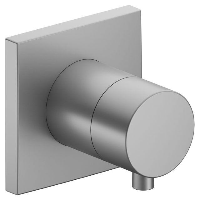 Keuco IXMO 2-Wege Ab- und Umstellventil Comfort eckig Aluminium-finish 59557171002