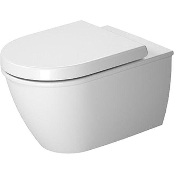 Duravit Darling New Tiefspül-Wand-WC rimless ohne Spülrand L:54xB:37cm weiß mit Wondergliss 25570900001