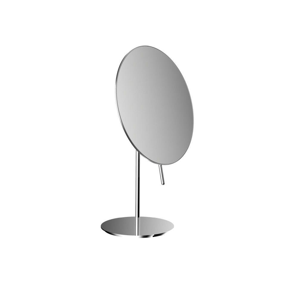 Emco Pure Kosmetikspiegel D:20,2cm 3-fache Vergrößerung Standmodell chrom 109400112