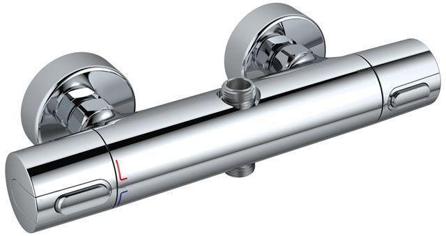 Ideal Standard Ceratherm 100 New Brausethermostat Aufputz Abgang oben chrom A4639AA