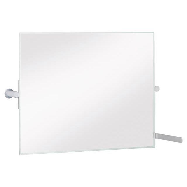 Keuco Plan Care Kippspiegel für Vorwandinstallation geeignet aluminium finish 34986172000