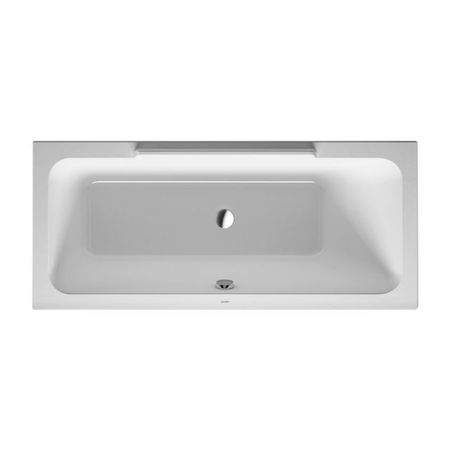 Duravit DuraStyle Badewanne 1600x700 Einbauversion Rückenschräge rechts weiß 700293000000000
