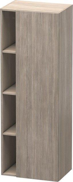 Duravit DuraStyle Hochschrank B:50xH:140xT:36 cm mit 1 Tür Türanschlag rechts pine silver DS1239R3131