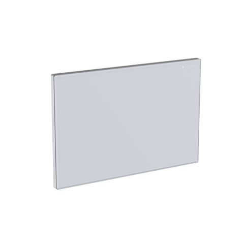 Geberit Abdeckplatte Omega Glas weiß 115082SI1