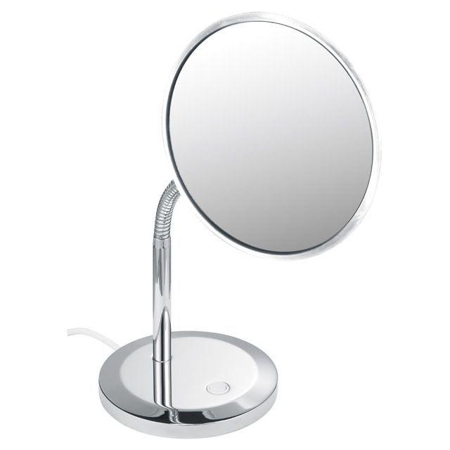 Keuco Elegance Kosmetikspiegel Standmodell verchromt 17677019000