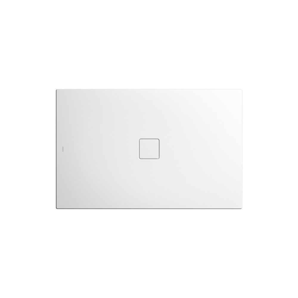 Kaldewei CONOFLAT Rechteck-Duschwanne 780-1 L:80xB:90cm schwarz matt 100 mit Secure Plus 465000013661