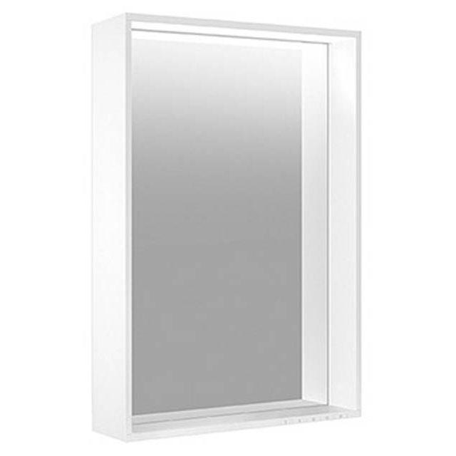 Keuco Plan LED-Lichtspiegel B:80 x H:70 cm silber gebeizt eloxiert 07897172500