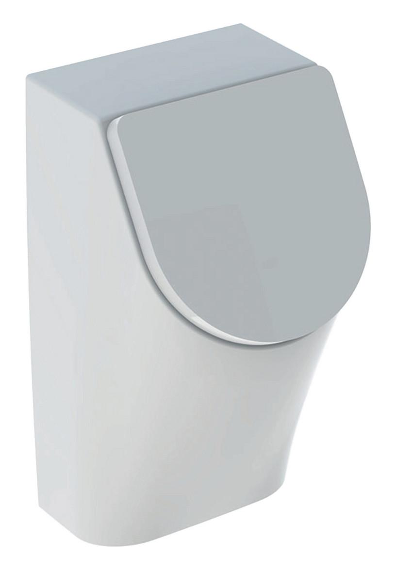 Geberit Keramag Renova Plan Urinal mit Deckel Zulauf von hinten weiß mit Keratect 235120600