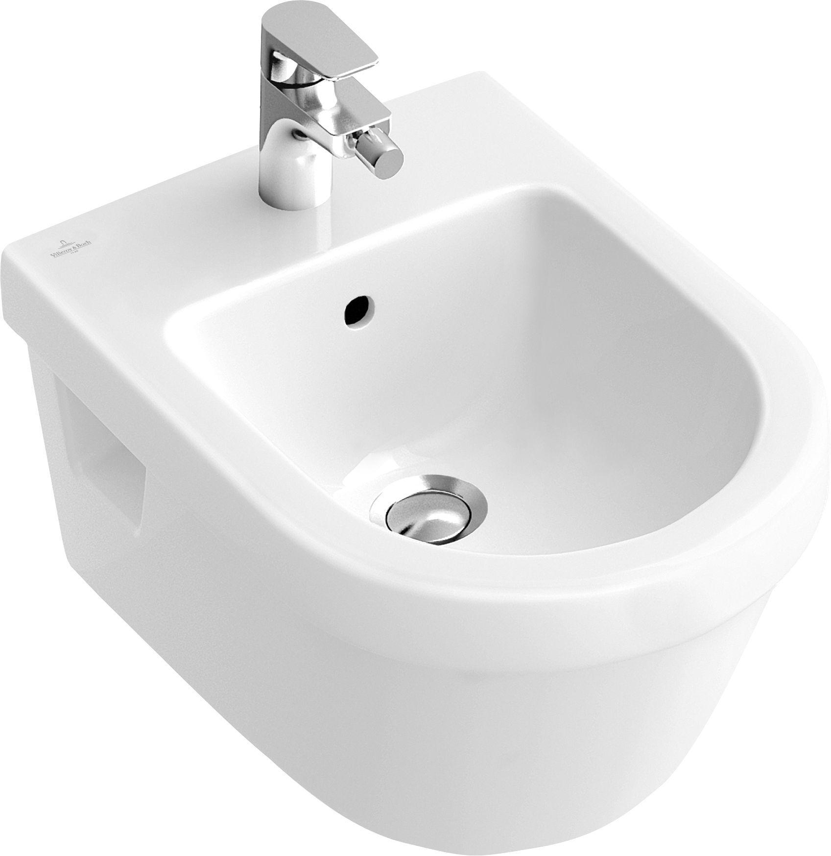Villeroy & Boch Architectura Bidet weiß mit ceramicplus 548400R1
